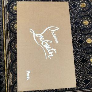 Christian Louboutin Shoes - Authentic Christian Louboutin Shoe box.